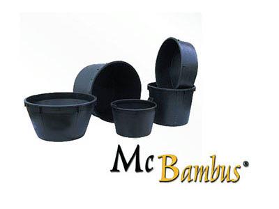 Bambus-Köln Pflanzkübel / Blumenkübel