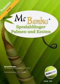 Bambus-Köln Mc-Bambus Spezialdünger mit Langzeitwirkung für Palmen